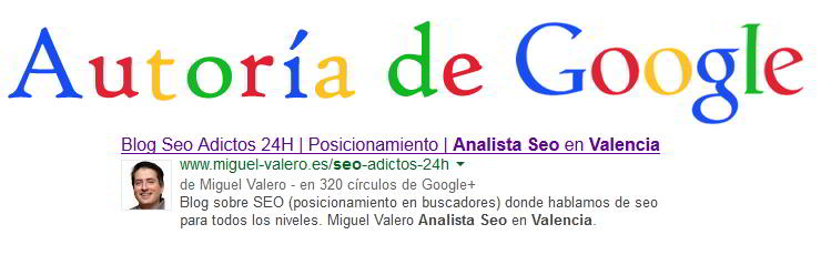 Autoría Google disminuye los resultados de autor. Geolocalización